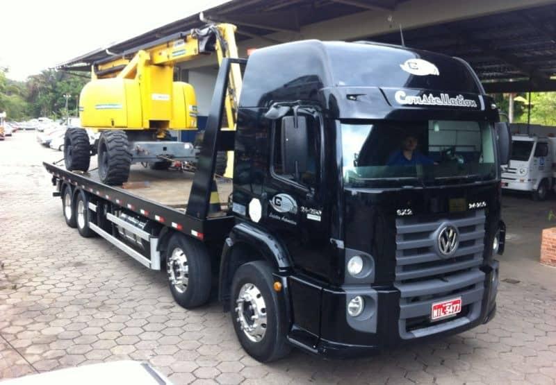 Transporte de Máquinas e Equipamentos Industriais